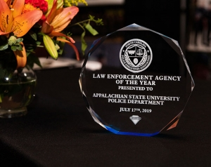 App State Police Department honored as NCPEA Law Enforcement Agency of the Year