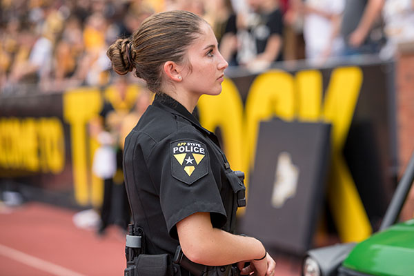 With App State Police, Madison Cook follows in family footsteps of service